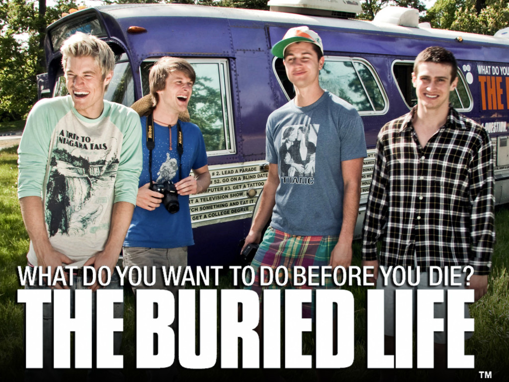 How to Cross ANYTHING Off Your Bucket List with MTV's The Buried Life