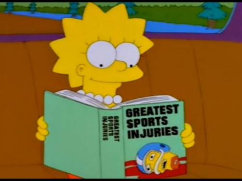 Lisa reading a book
